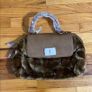Aldo Kahbowski Faux Fur Bag NWT
